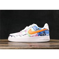 Nike Air Force 1 AF1 Low Graffiti Fashion Sneakers