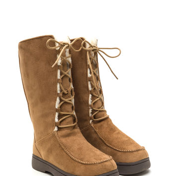 Storm Front Faux Shearling Boots