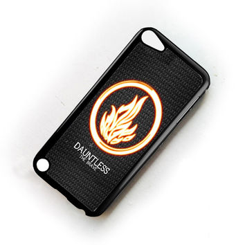 Divergent Dauntless The Brave iPod Touch 6 Case Sintawaty.com