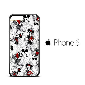 mickey mouse wallpaper Y0328 iPhone 6 Case