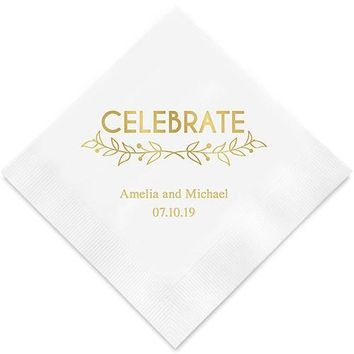 Woodland Pretty Celebrate Paper Napkins (Sets of 80-100)