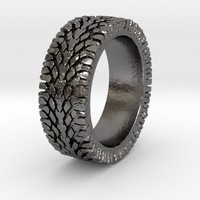 Street Tread Tire Ring - American Sportsman Jewelry