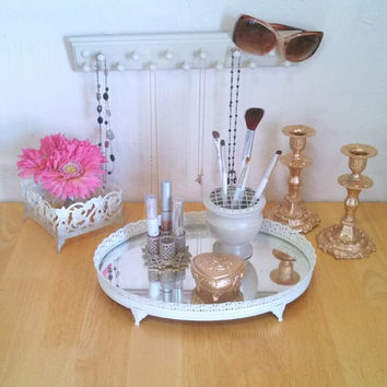 Beautiful Upcycled Ombre vanity set