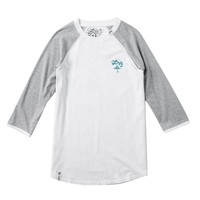 LRG - LRG RC Baseball Tee - White - Tees - Mens