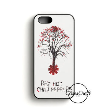 Tree Of Red Hot Chili Peppers iPhone 5/5S/SE Case