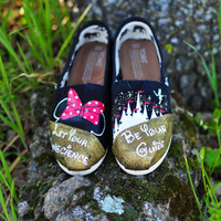 Hand Painted Disney Toms