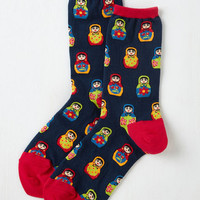 She's Doll That Socks Size OS by ModCloth