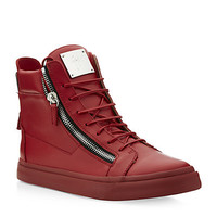 Giuseppe Zanotti Zip Detail High-Top Trainers