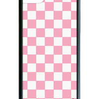 Pink Checkers iPhone 7 Case