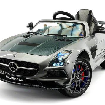 Mercedes SLS AMG 12V Kids Ride-On Car With Remote