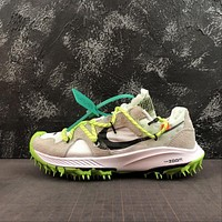 "OFF WHITE x Nike Air Zoom Terra Kiger 5 ""White"" Sport Shoes"