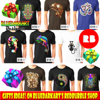 BluedarkArt • Order #Apparel, #Cases & more by Dec 19 with...