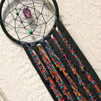 Dream catcher Psychedelic Hippie Art Wall Hanging Native American Dreamcatcher Tribal Rainbow