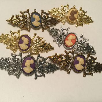 Vintage Cameo BROOCHES AND PINS
