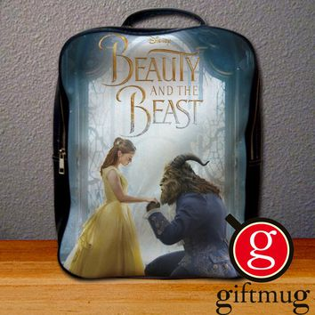 Beauty and The Beast Poster Backpack for Student