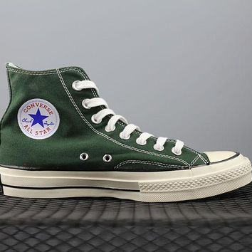 Converse 1970s High Tops Fashion Canvas Flats Sneakers Green