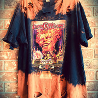 INSANE CLOWN POSSE Bleached,xlarge, tie dyed, band t shirt, concert shirt, distressed shirt,soft grunge
