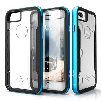 Zizo Shock Clear back Impact Drop Phone Case Cover for iPhone 6 7 plus 8 plus