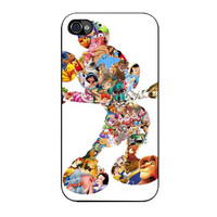 mickey mouse silhouette iPhone 4 4s 5 5s 5c 6 6s plus cases