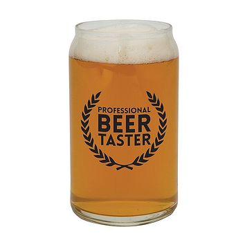 16oz Professional Beer Taster Beer Can Glass