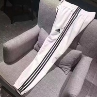DCCKJ2X Adidas' Women Loose Exercise Sport Pants Trousers Sweatpants