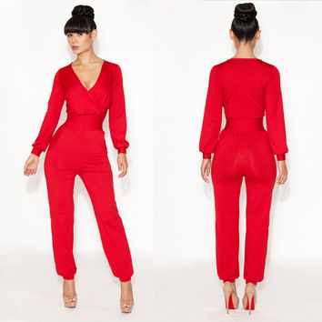 Women's Sexy Jumpsuit Cocktail Party Clubwear = 4427409540