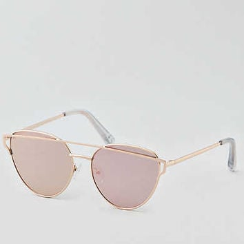 AEO Metal Sunglasses , Rose Gold
