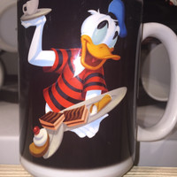 disney parks epcot food and wine donald duck espresso ceramic coffee mug cup new