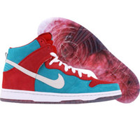 Nike Dunk High Premium SB (varsity red / white) Shoes 313171-611 | PickYourShoes.com