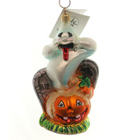 Christopher Radko Spooky Hollow Halloween Glass Ornament