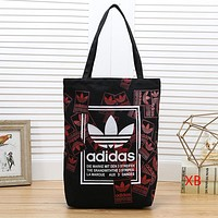 Adidas Women Fashion Leather Shopping Bag Tote Satchel Shoulder Bag