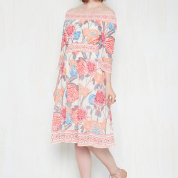 Peeks and Valleys Dress