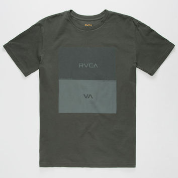 Rvca Opposites Box Mens T-Shirt Black  In Sizes