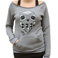 Supermarket - Hootie Eco-Fleece Flashdance Sweatshirt from crywolf