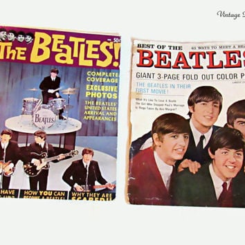 Vintage Beatles Magazines, 1964, Beatlemania, Best of the Beatles