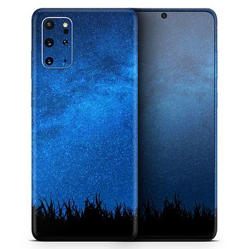 Silhouette Night Sky - Skin-Kit for the Samsung Galaxy S-Series S20, S20 Plus, S20 Ultra , S10 & others (All Galaxy Devices Available)