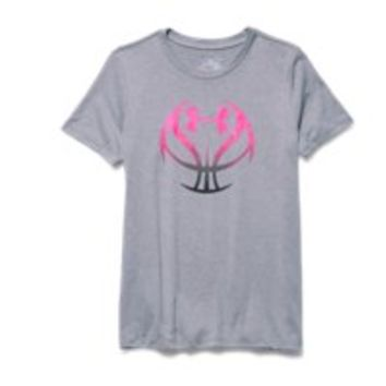 Under Armour Girls' UA Basketball Graphic T-Shirt