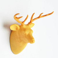 Woodland Creature Where You Go, I Glow Lamp in Stag by ModCloth