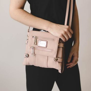 Greektown Crossbody - Blush