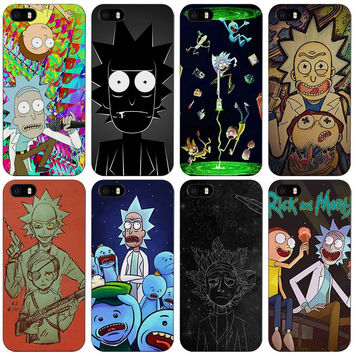 Rick and Morty  Plastic Case Cover Shell for iPhones