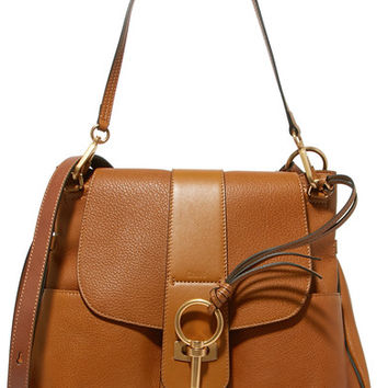 Chloé - Lexa medium textured-leather shoulder bag