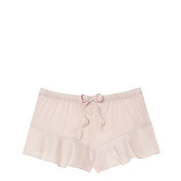 Satin Ruffle Short - Victoria's Secret