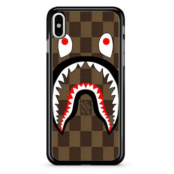 Bape Shark Pattern 4 iPhone X Case