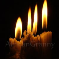 Candles Digital JPG Download
