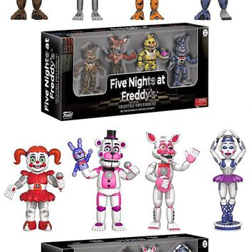 """NEW Spring 2017 Five Nights At Freddy's 2"""" MINI Figure Nightmare,Sister Location"""