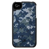 US NAVY NWU iPhone 4 Case from Zazzle.com