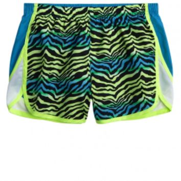 Printed Running Short