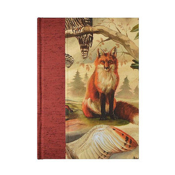 Lined Paper Journal Fox