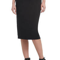 BCBG Kahli Ruched Pencil Skirt