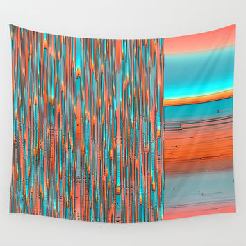 Interplay Of Warm And Cool Wall Tapestry by Ben And Raisa Gertsberg